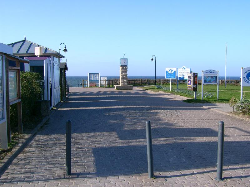 Weg zum Strandabgang